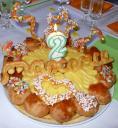 Le gâteau d'anniversaire!